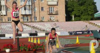 Яким був другий день чемпіонату України з легкої атлетики у Луцьку