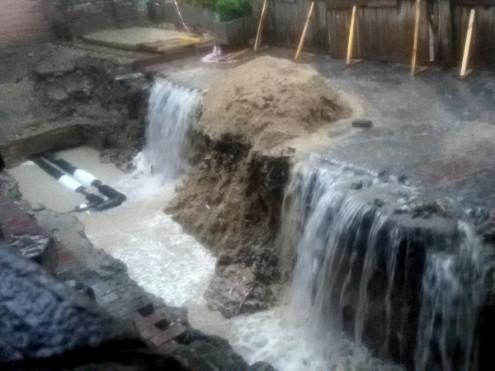 затоплений підвал