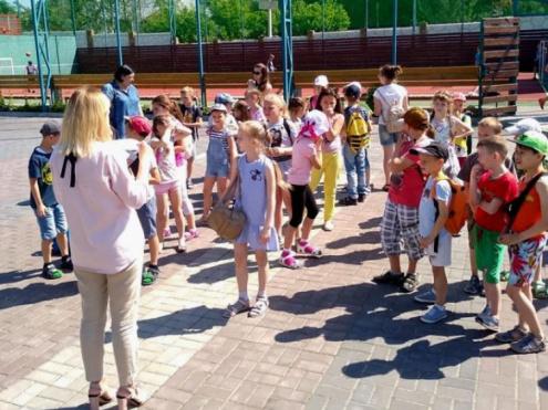 У «CITY PARK» завітав літній табір школи №10