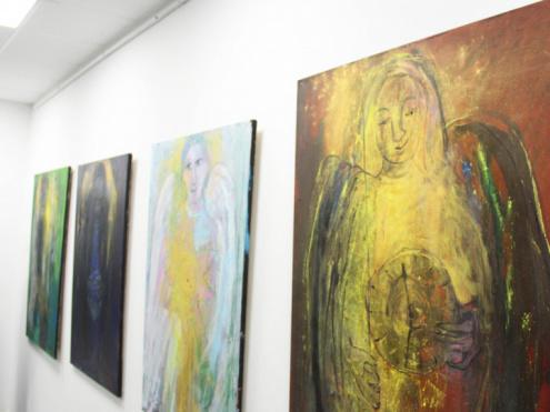 Різдвяні Янголи у галереї: відкрилася виставка Тетяни Мялковської