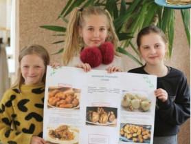 Смачне навчання: учні Липинської школи вивчали кухні світу