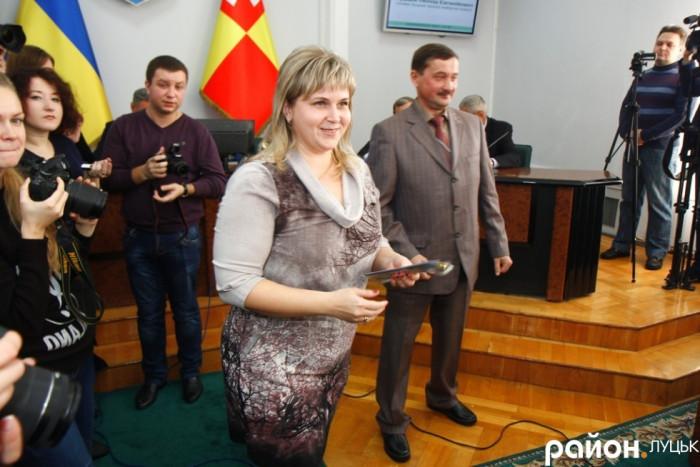 Орися Залевська УКРОП