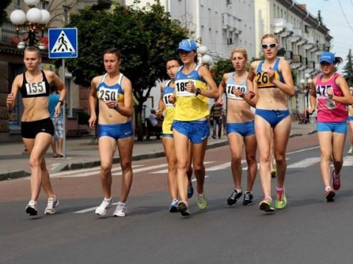 Центр Луцька перекриють через змагання з ходьби