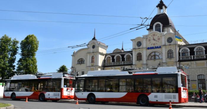 Новенькі тролейбуси