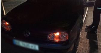 У Луцьку зупили водія, який не мав права кермувати автомобілем