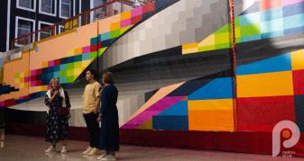 У Музеї Корсаків презентували проєкт луцького вуличного художника