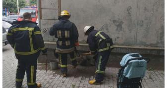 Пожежа у підвалі