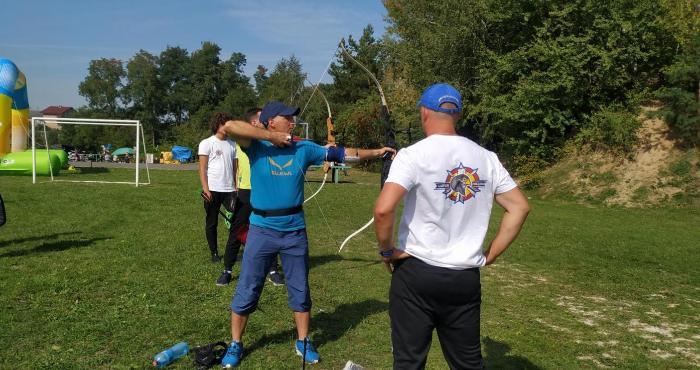 Жителів Боратинської громади вчили стріляти з лука