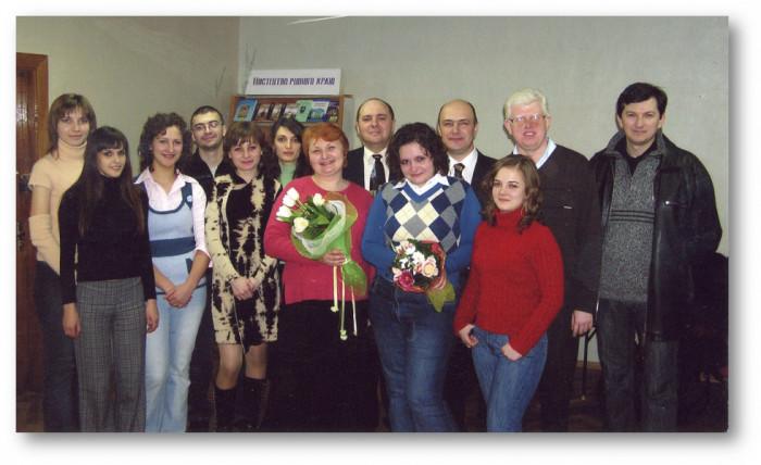 Конкурс «Неповторність» 2007 року. Фото з фейсбук-сторінки бібліотеки