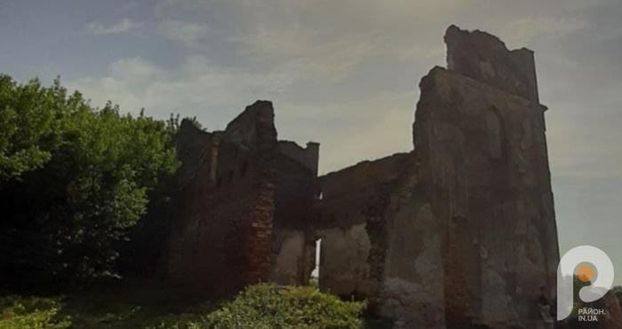 Руїни маєтку Запольсокої