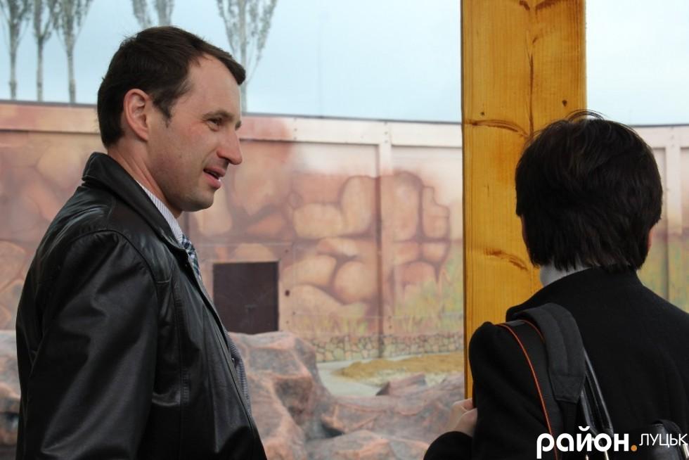 Секретар міської ради Сергій Григоренко постійно супроводжував пані Генерального Консула