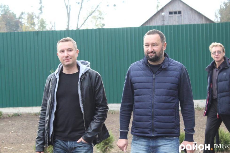 Олександр Ковальський та співвласник нічного клубу Opera Андрій Котищук