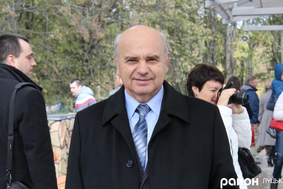 Екс-голова Волинської обласної ради Володимир Войтович