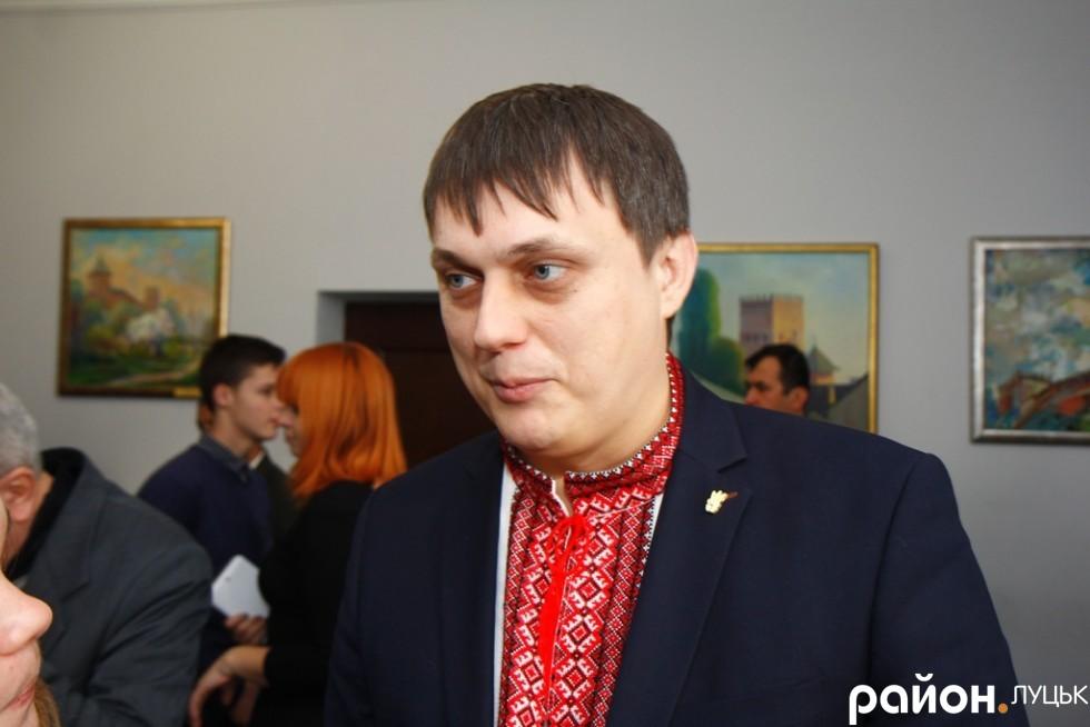 Микола Федік очолив луцьких свободівців