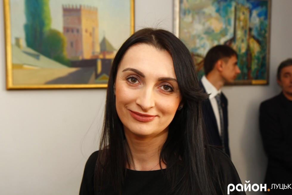 Лідер луцької Самопомочі Юлія Вусенко