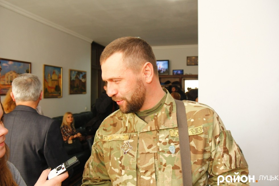 Олександр Кравченко тепер воюватиме і у Луцькій міській раді