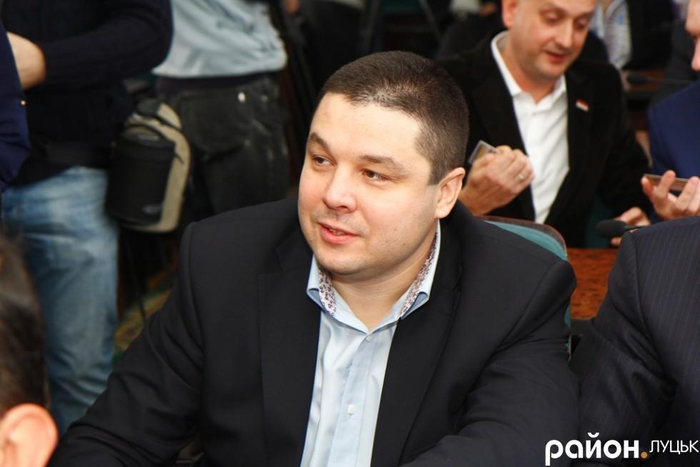 Костянтин Петрочук - головний радикал Луцької міської ради