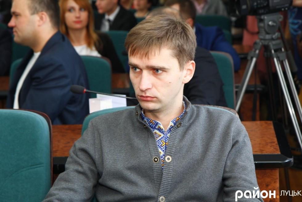 Свободівець Богдан Вавринюк депутатом став вперше