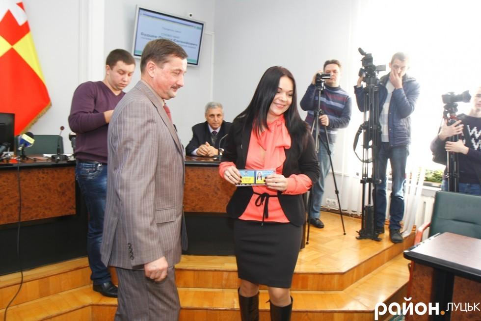 Вікторія Побережна - депутат від УКРОПу
