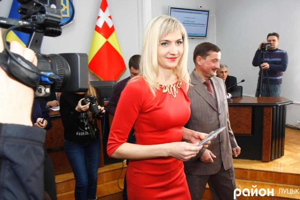 У новій міській раді багато працівників фонду Новий Луцьк. Тетяна Янчук - одна з них
