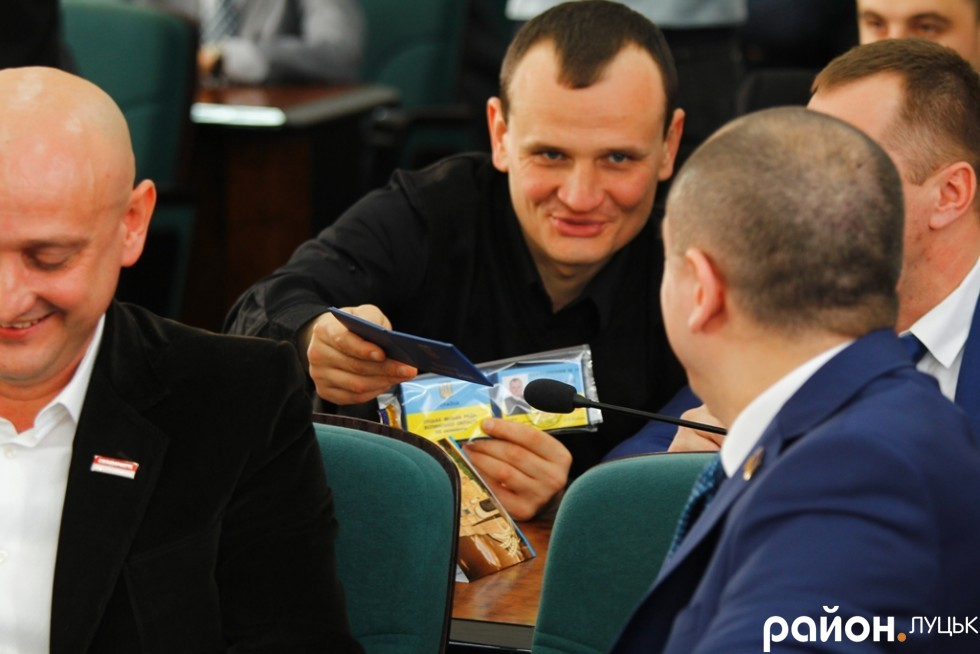 Артем Запотоцький, активіст Майдану, який до Луцької міської ради потрапив від БПП Соліданість