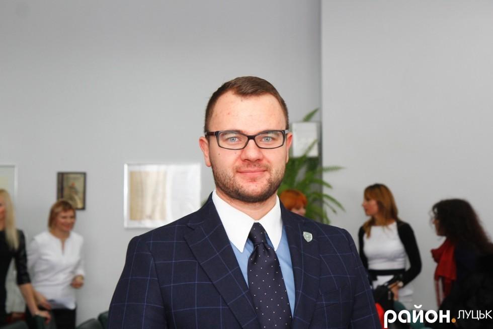 Депутат від УКРОПу Ігор Поліщук поводив себе впевнено, адже йому не звикати до сесійної зали