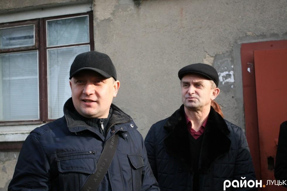 Депутат міськради Юрій Безпятко та головний інженер
