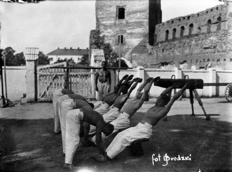 Гімнастика в замку