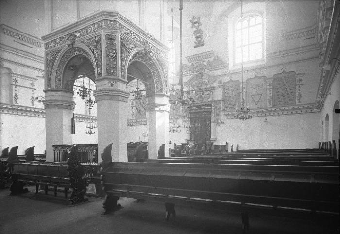 Інтер'єр синагоги