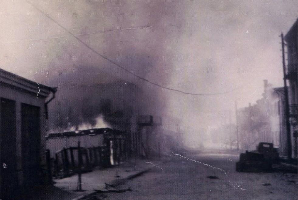 Пожежі в місті (сучасна вул. Лесі Українки)