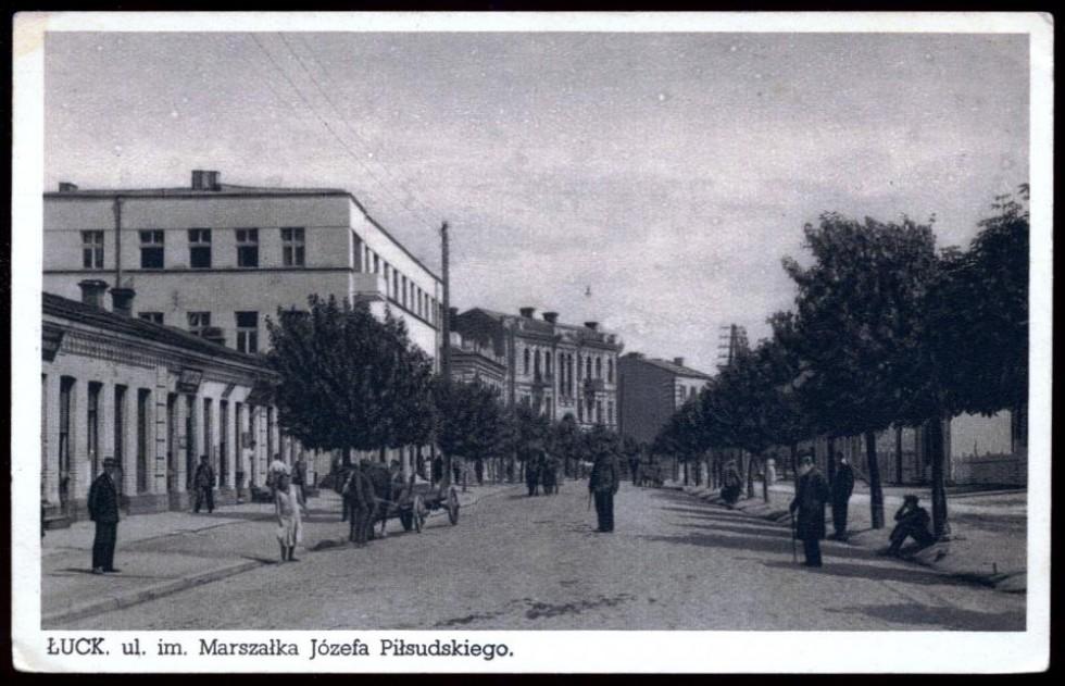Вулиця Юзефа Пілсудського