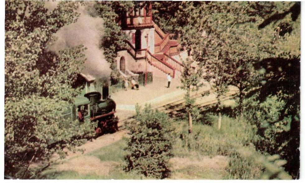 Дитяча залізниця. Кінець 1960-их років
