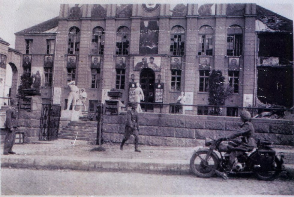 Будинок офіцерів в часи німецької окупації