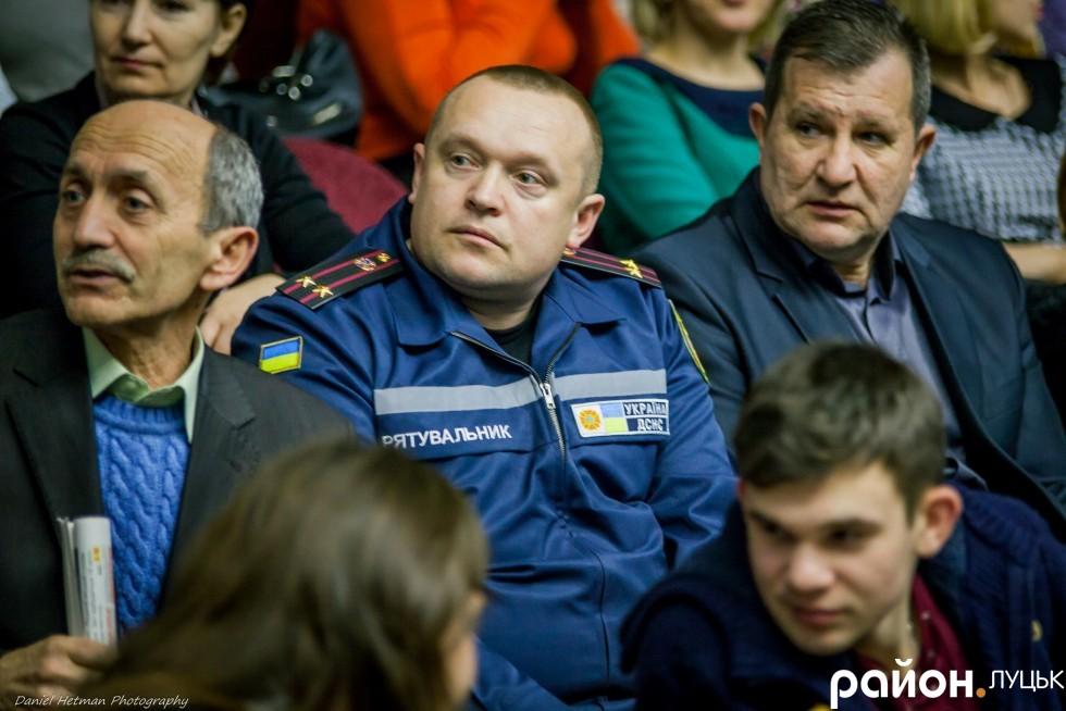 Міським рятувальникам також важливо почути, що зробив Микола Ромонюк минулого року