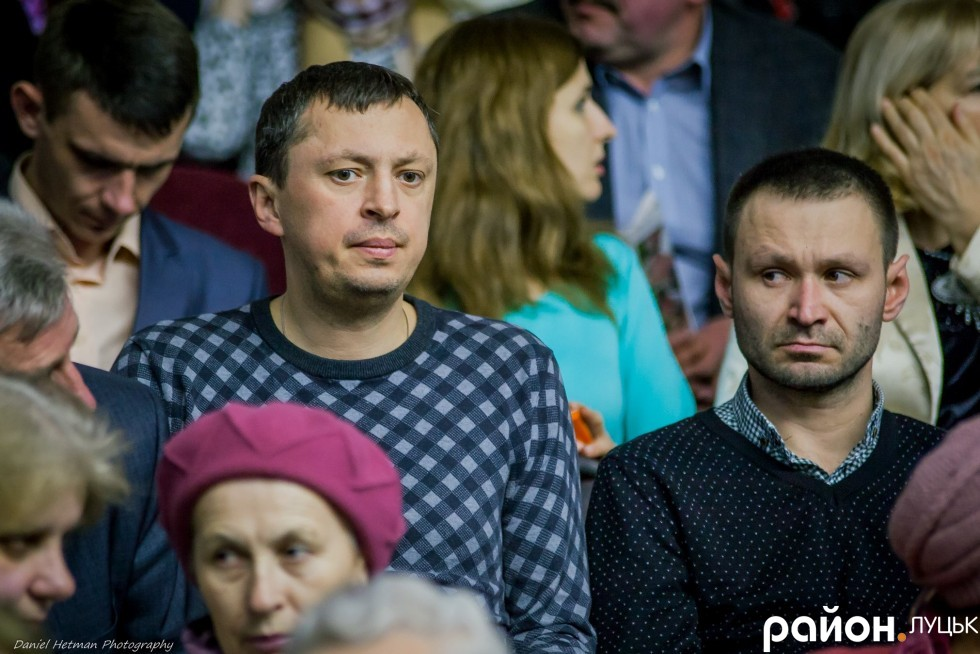 Директор Луцьксантехмонтаж  №536 Ігор Чорнуха завжди відвідує міські заходи