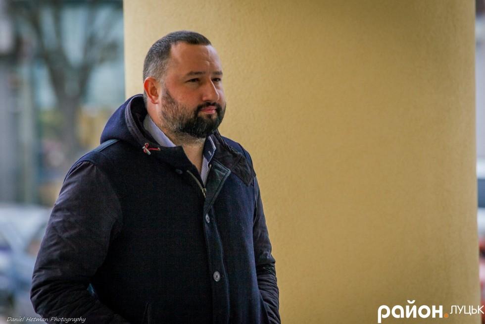 Співвласник клубу Опера, ресторатор  Андрій Котищук також вирішив дізнатися, що хорошого мерія зробила для міста минулого року