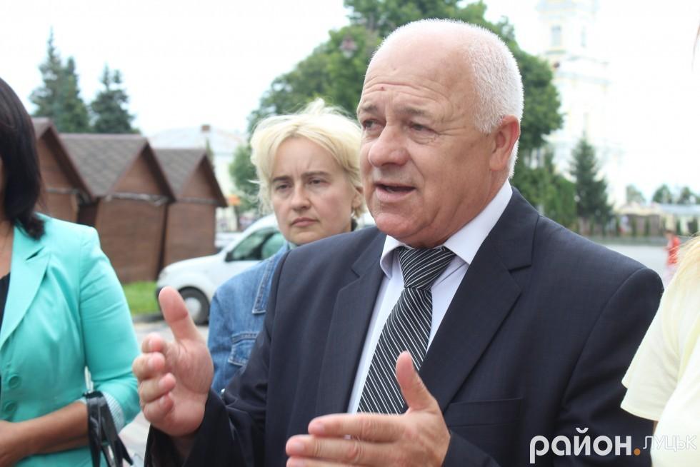 Директор Палацу культури міста Луцька Юрій Войнаровський