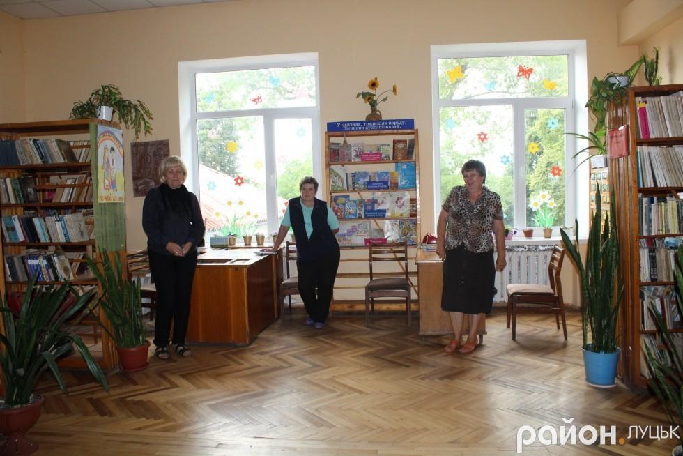 Бібліотека в будинку культури на Вересневому