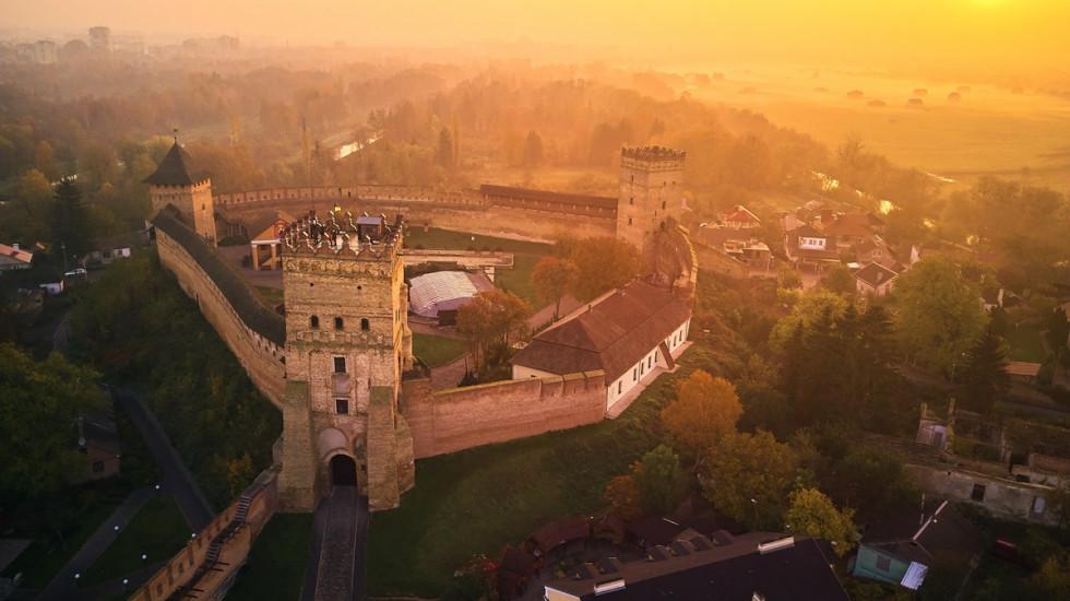 Споруда на сьогодні є однією з найкраще збережених серед українських замків