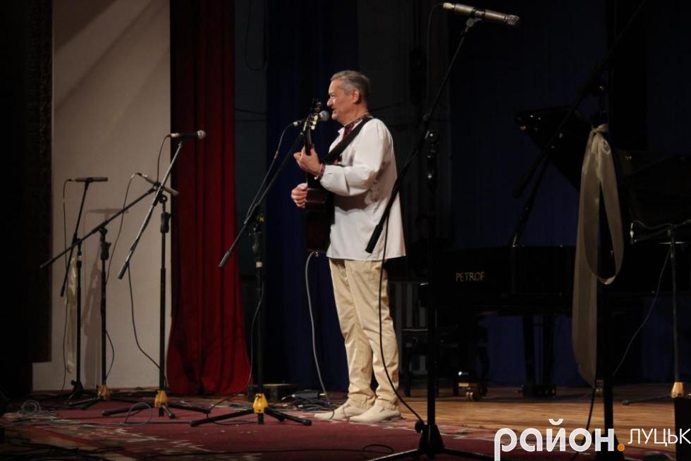 Виступив також і лауреат попередніх фестивалів Володимир Смотритель
