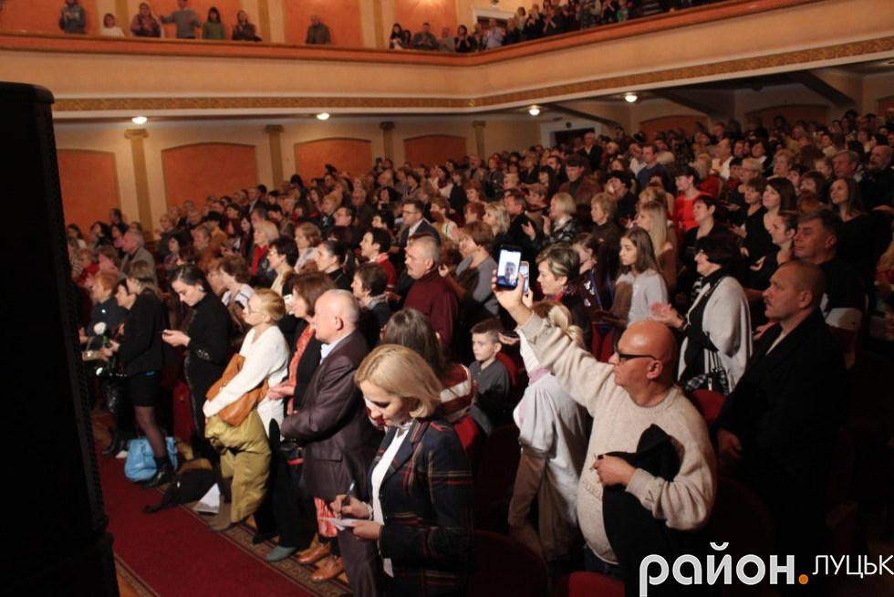 Стоячих аплодисментів, окрім Вови Гейзера, удостоїлися ще кілька музикантів
