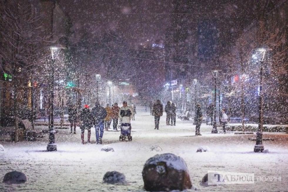 Зимова казка на вулиці Лесі Українки