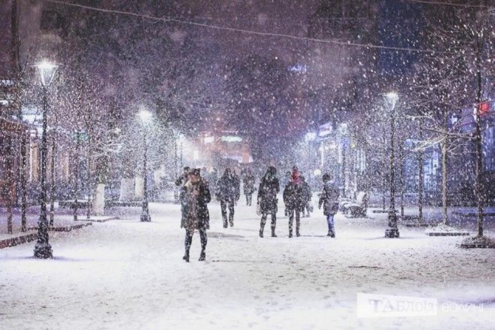 Чарівна зима в обласному центрі