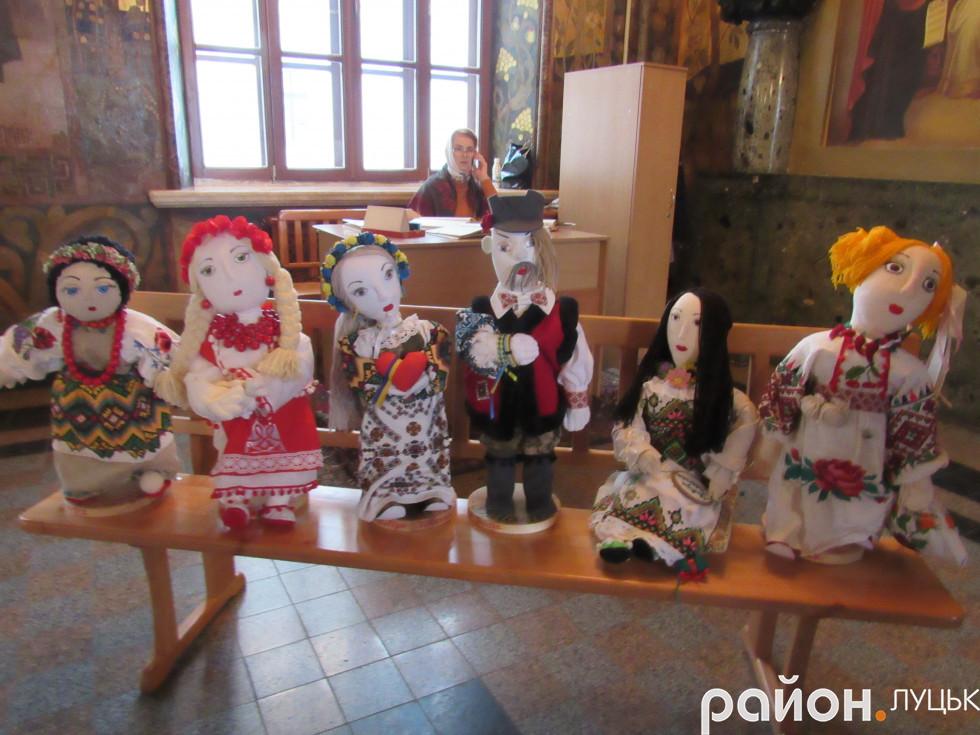 Ляльки Юлії Токарської