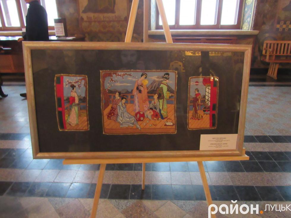 Вишита картина Юлії Токарськими зі східними мотивами