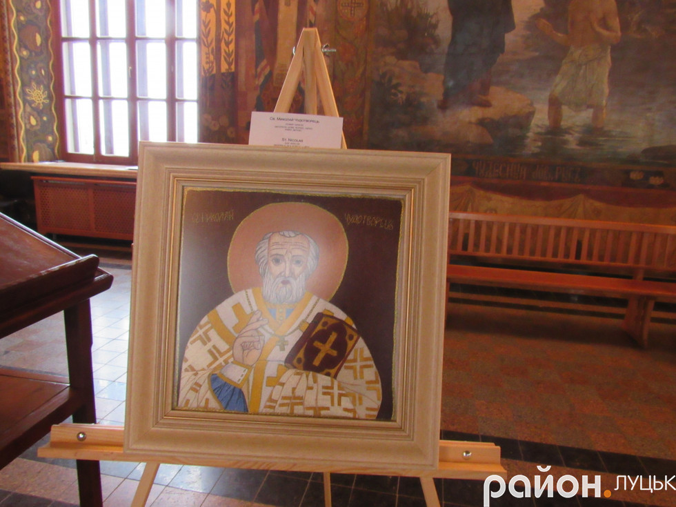 Ікона з зображенням Святого Миколая
