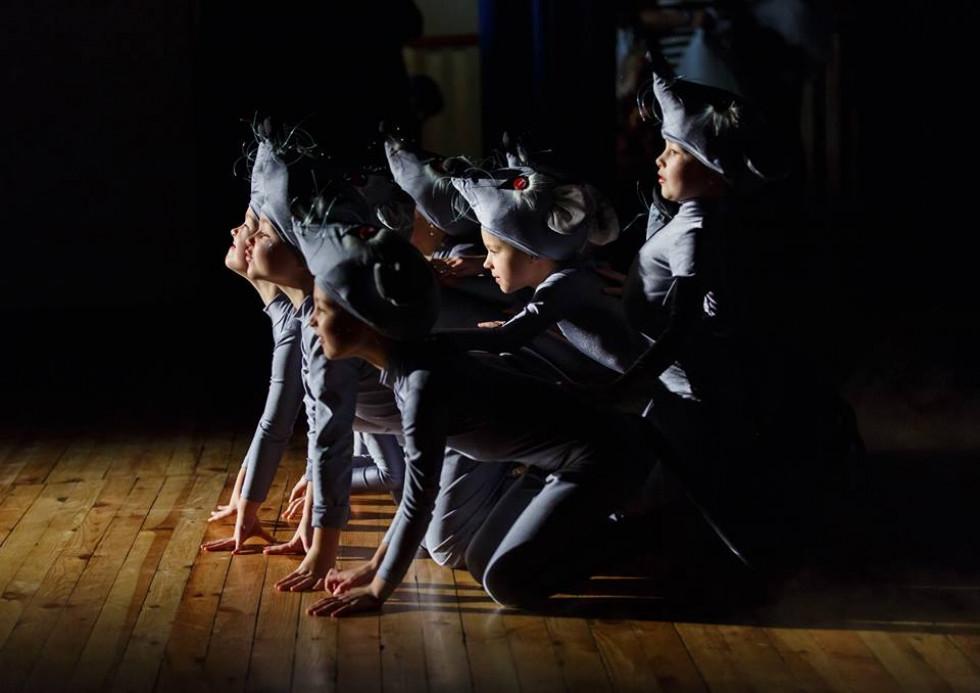Миші на сцені