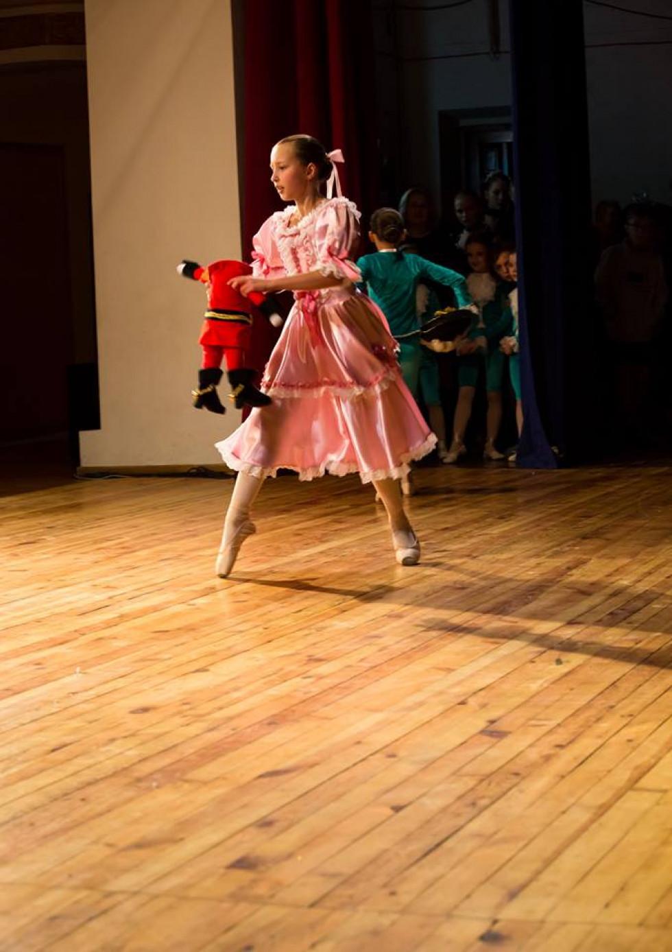 Балерина з Лускунчиком