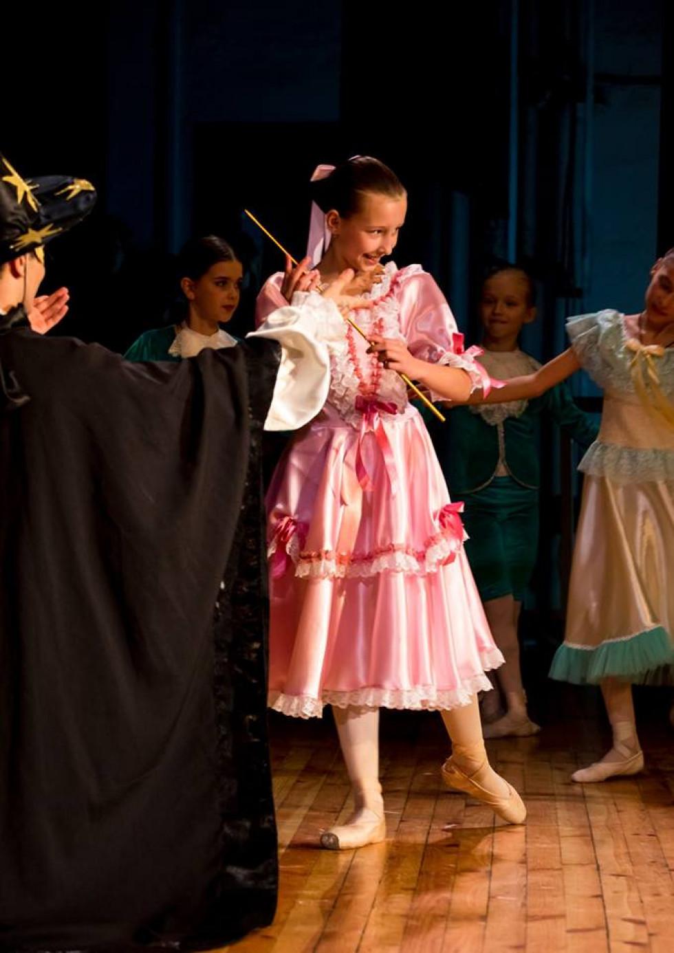 Балерина з паличкою чарівника