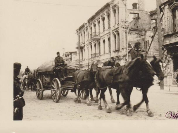 Фото періоду фашистської окупації у Луцьку